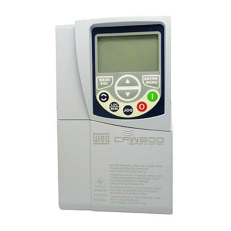 Inversor de Frequencia Weg CFW500 Trifasico 5CV 220V