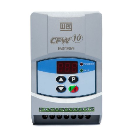 Inversor de Frequência CFW10 Mono 127V 0,5CV 2,6A Weg