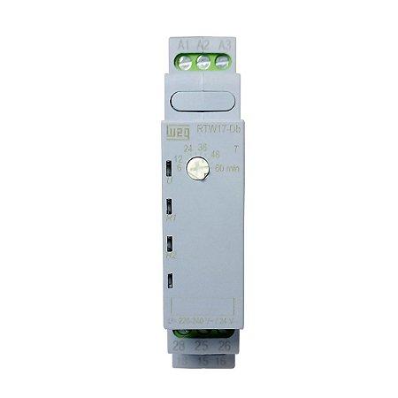 Rele Temporizador Cíclico Weg 6-60min 2 NA/NF 220V