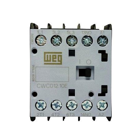 Mini Contator Weg CWC012 110V 12A 3NA