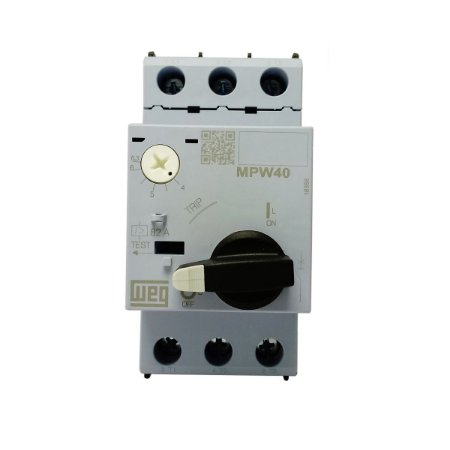 Disjuntor Motor Weg MPW40 Ajuste 4-6,3A