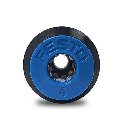 Conexão Pneumática Festo União Rápida 6mm QS-6-4