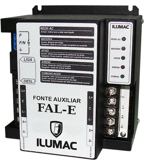 Fonte Auxiliar de Linha FAL-E Ilumac