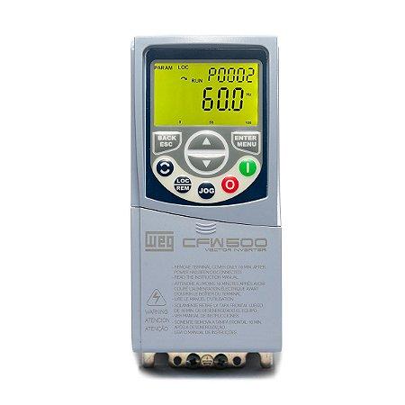 Inversor de Frequencia Weg CFW500 Monofasico 0,5CV 220V 2,6A