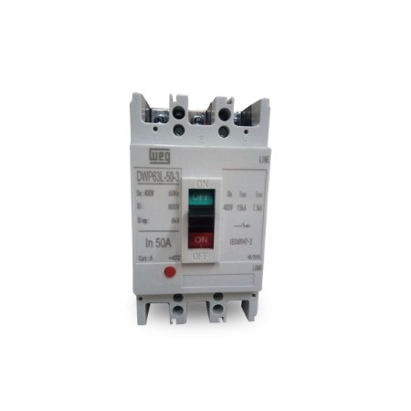 Disjuntor Caixa Moldada Weg DWP63L-50-3 50A Tripolar