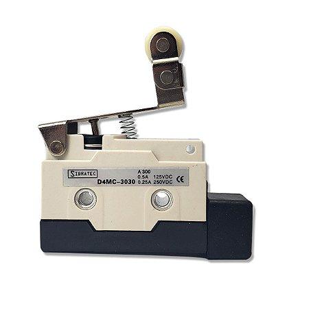 Chave Fim de Curso D4MC-3030 Roldana Corpo Plastico Sibratec
