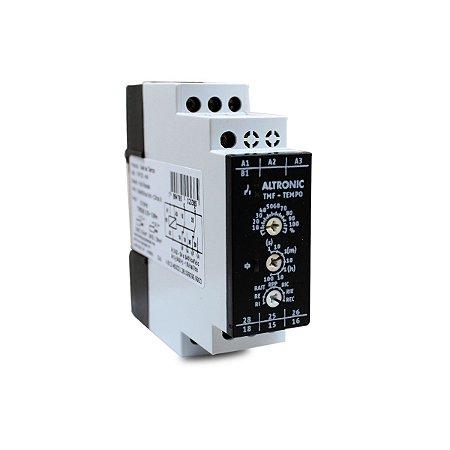 Rele de Tempo Multifunção Altronic TMF-02 24-240Vca + 12Vca