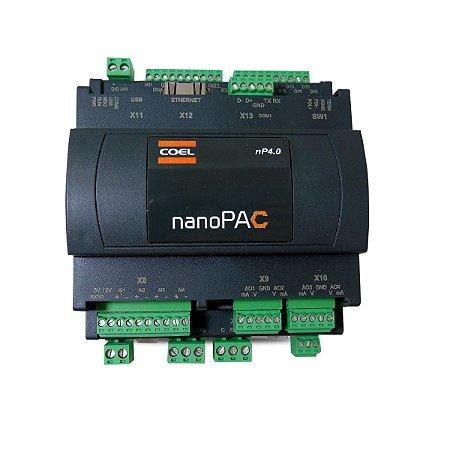 CLP e Controlador de Temperatura NanoPac NP4 Coel 24Vcc