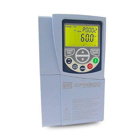 Inversor de Frequencia Weg CFW500 Trifasico 3CV 380V 6,5A