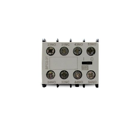 Bloco Contato Auxiliar Weg BFC0-31 para minicontator