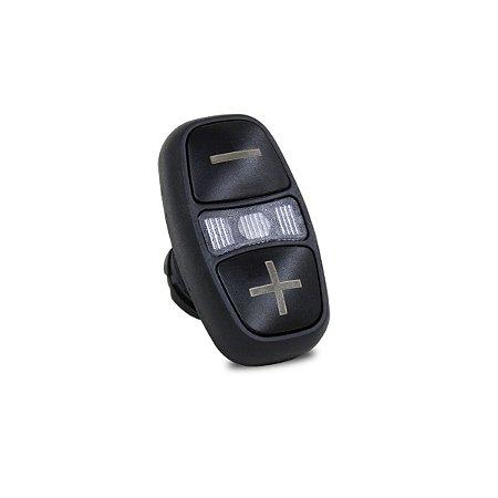Botão Pulsador Frontal Duplo Iluminado Weg CSW Preto +/-