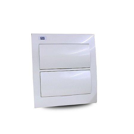 Quadro de Distribuição Weg para 24 Disjuntor DIN de Embutir