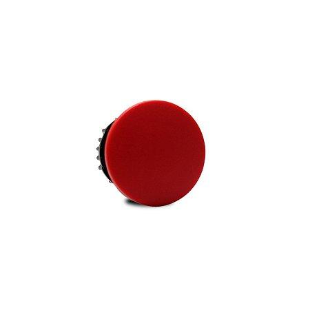 Botao Pulsador Cogumelo Weg Vermelho 22mm