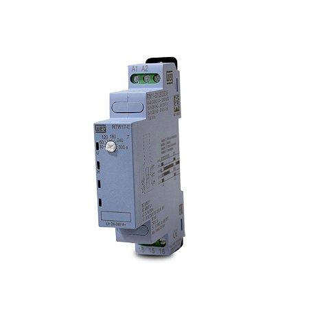 Rele Temporizador Pulso na Energização Weg 30 a 300s 24-240V