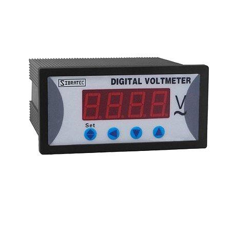 Voltímetro Digital 0 a 500V Com Alarme
