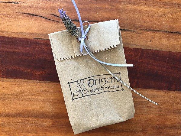 Embalagem para presente: saquinho de papel