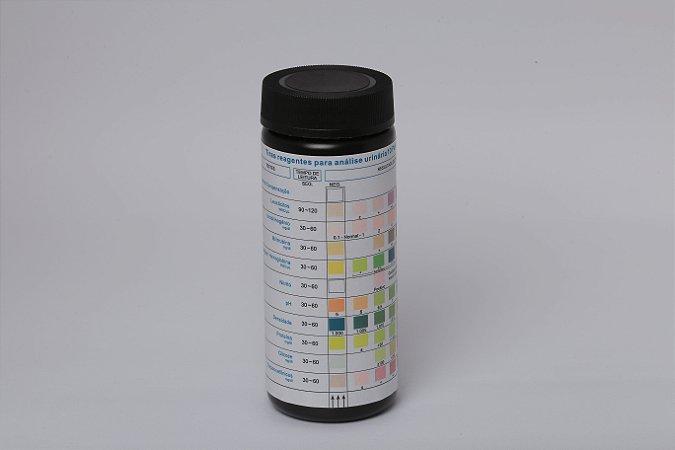 Tira De Urina C/10 Parâmetro. Sensi 10 - C/100 - Cral