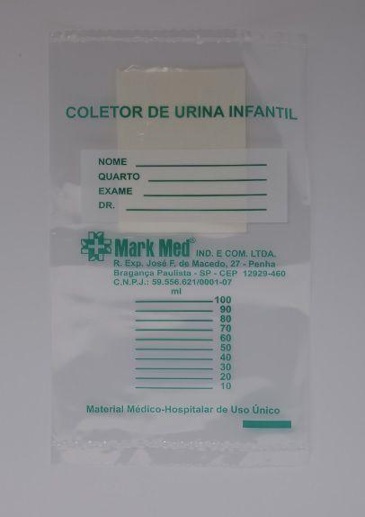 Coletor De Urina Infantil - C/10 - Markmed
