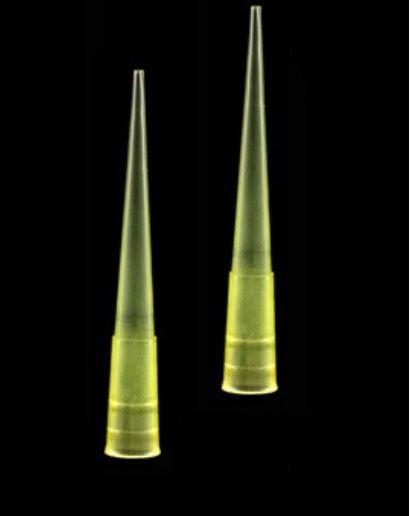 Ponteira Tipo Gilson Amarela 0/200ul - C/1000 - Cral