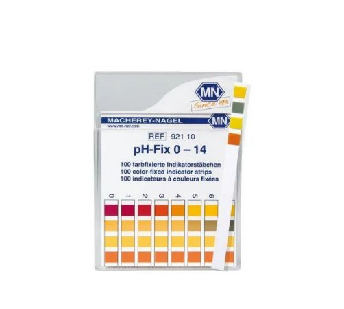 Papel de PH 0-14 - C/100 - MN