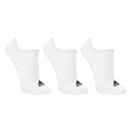 Meia Soquete Adidas Light Nosh Kit c/ 3 Pares