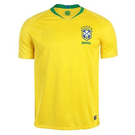 Camisa SPR Seleção Brasil  2018 Réplica Torcedor Masculina