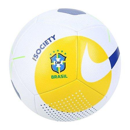 Bola de Futebol Society Nike Brasil CBF
