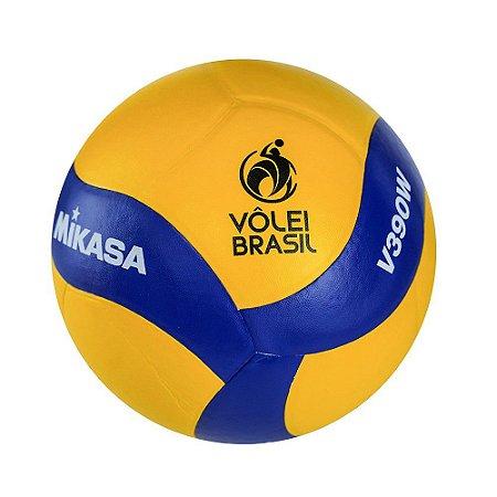 Bola de Voleibol Mikasa V390W - Padrão FIVB