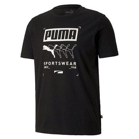 Camiseta Puma Box Masculina