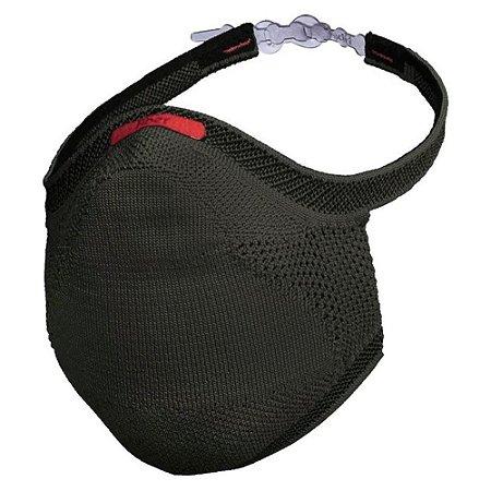 Máscara de proteção esportiva Fiber com filtro descartável E96