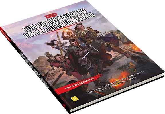 Dungeons and Dragons (5ª Edição) Guia do Aventureiro para a Costa da Espada
