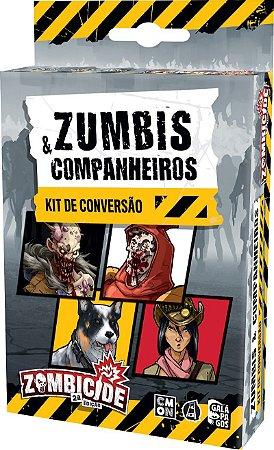 Zombicide (2ª edição) Zumbis e companheiros - Kit de conversão