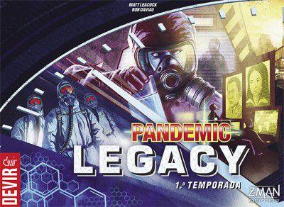 Pandemic Legacy Azul – 1ª Temporada