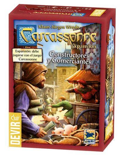 Carcassonne Comerciantes e Construtores 2ª edição