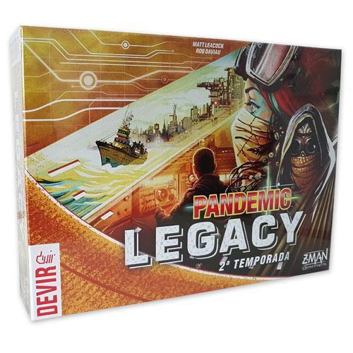 Pandemic Legacy Amarelo – 2ª Temporada
