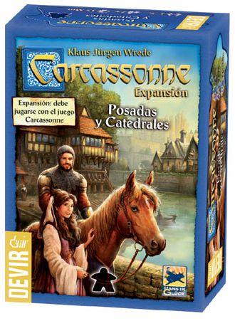 Carcassonne Pousadas e Catedrais 2ª edição