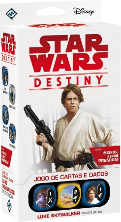 Star Wars Destiny - Luke Skywalker Pacote Inicial