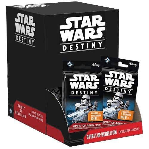 Star Wars Destiny - Espirito da Rebelião (CAIXA)