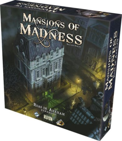 Mansions of Madness Ruas de Arkham