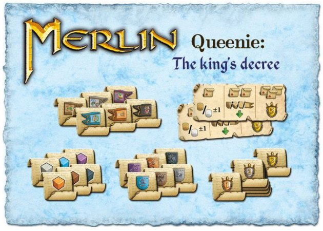 Merlin Queenie 2 O Decreto do Rei