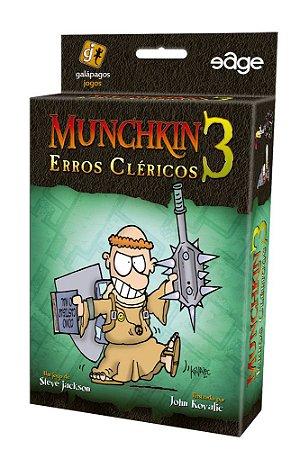 Munchkin 3 Erros Cléricos