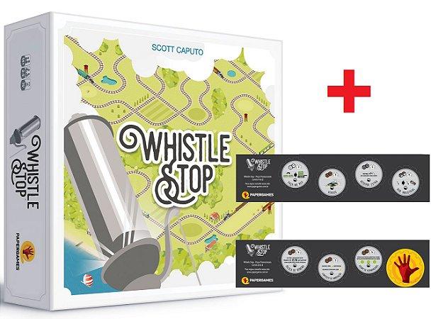Whistle Stop + Peças Promocionais