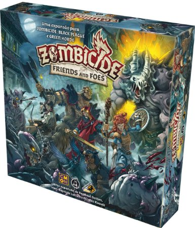 Zombicide Friends and Foes- Zombicide Black Plague e Green Horde