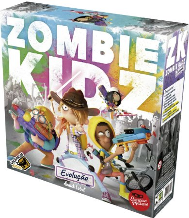 Zombie Kidz Evolução