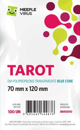 Sleeve Tarot 70x120 mm - Blue Core