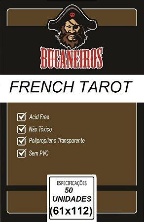 Sleeve French Tarot 61x112 mm - Bucaneiros