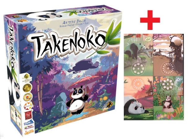 Takenoko + Alternate Art Player Boards