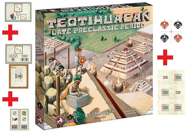 Teotihuacan Late Preclassic Period + 5 Promos (Pré-Venda)