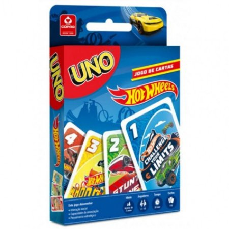 Uno Hot Wheels