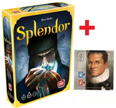 Splendor + Promo Brettspiel Adventskalender 2017